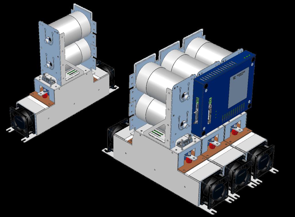 EconoDual Modular stack.